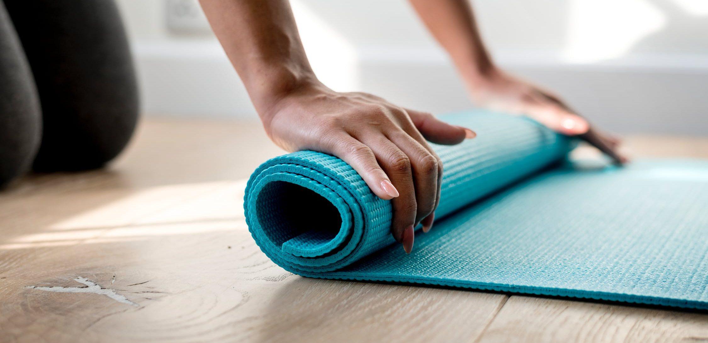 tappetino yoga palestra